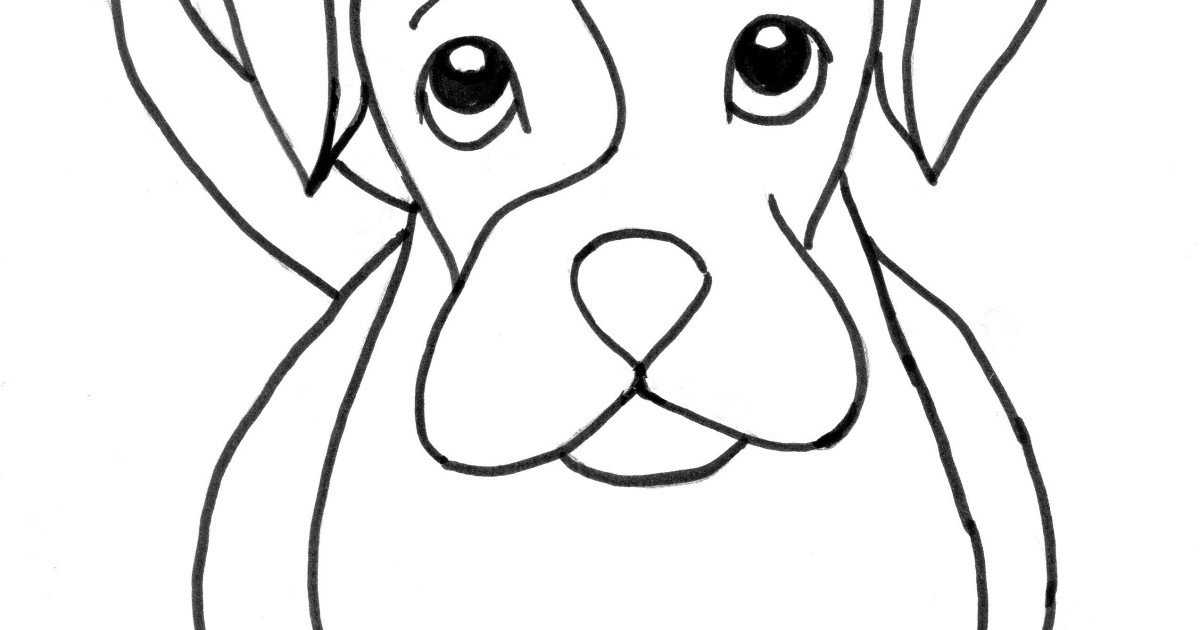 Puppy Coloring Pages Pdf : Boxer puppy coloring page samantha bell