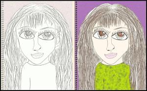 Iris' Self Portrait 2015