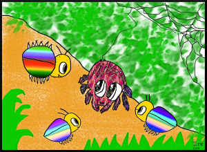 Spidy and the Rainbow Bugs (1)
