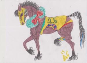 X.mas horse # 2 001