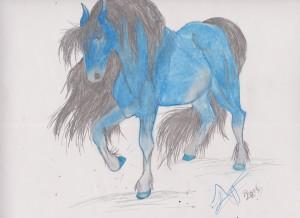 X.mas horse # 4 001