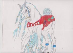 Xmas horse 001