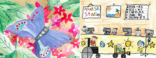 Calendar Drawing Contest : American kidney fund calendar art contest us only