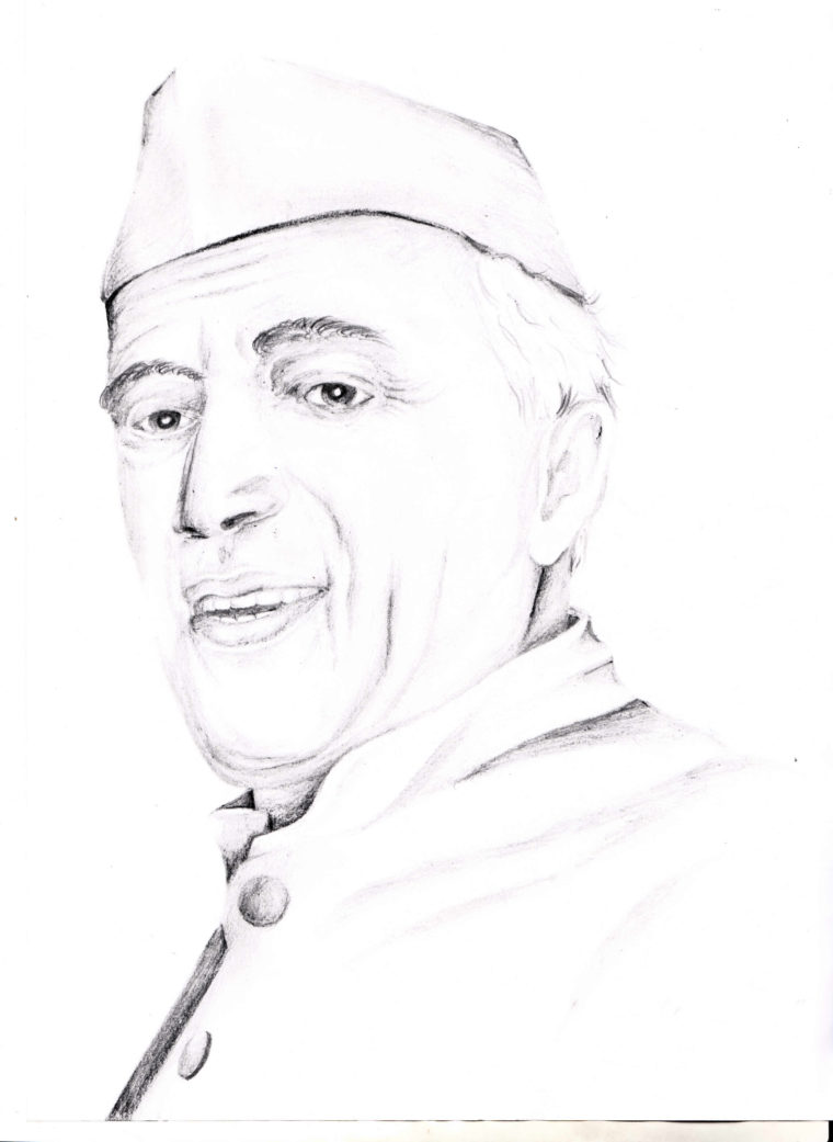 April contest entry chacha nehru art starts for kids