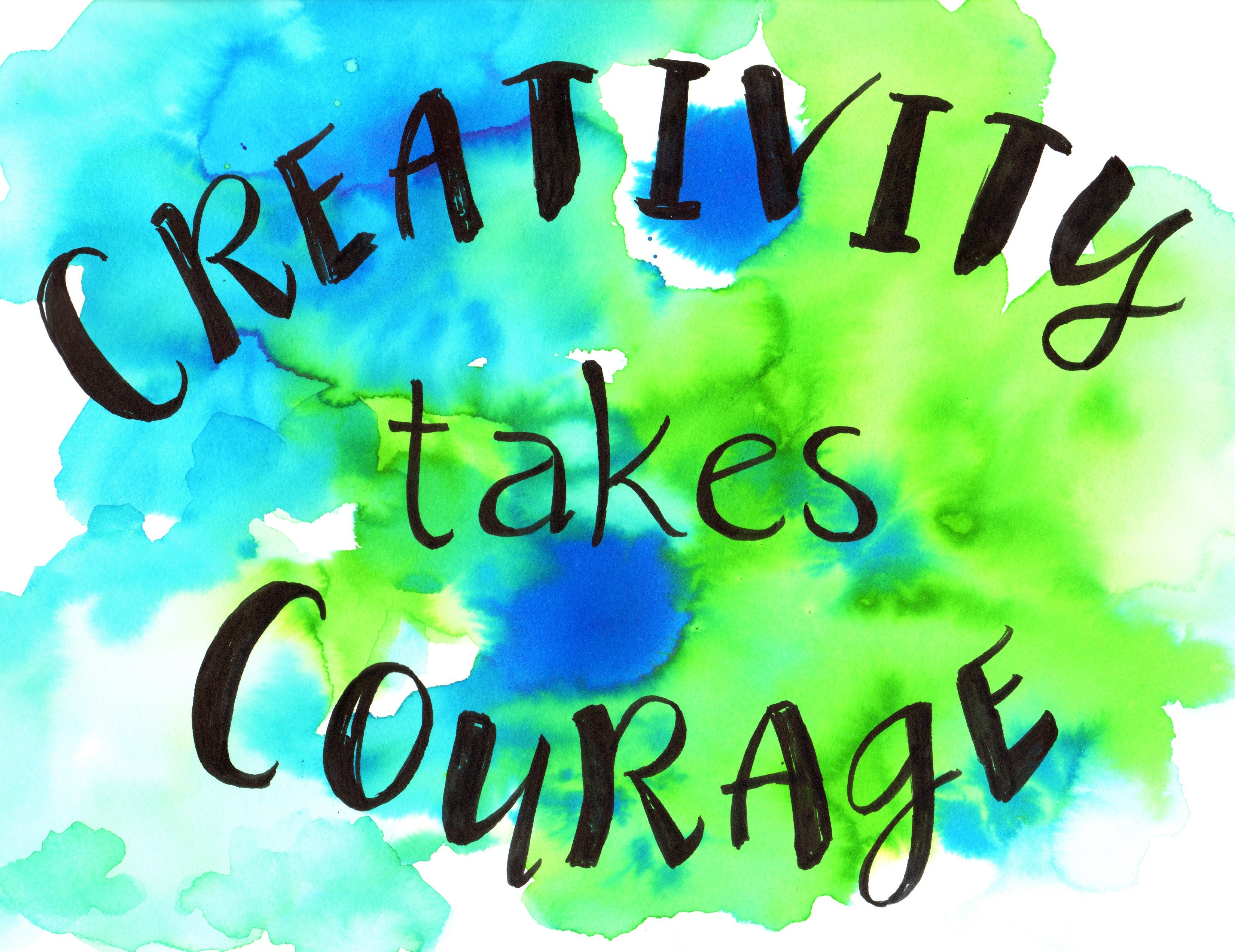 creative courage Could someone please give me an example and definition of creative courage and physical courage thanks.