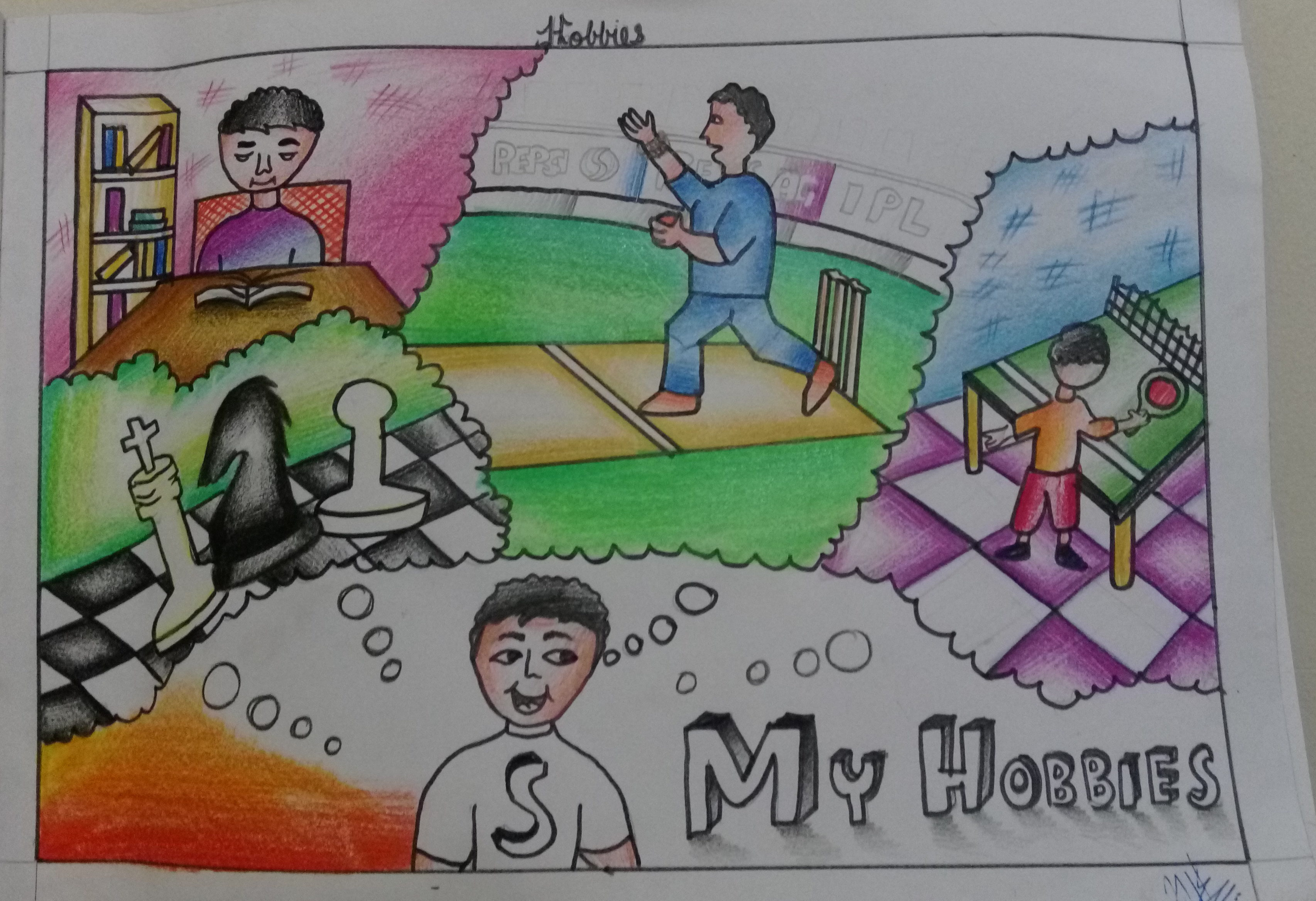 my hobby drawing Contextual translation of my hobby is drawing into hindi human translations with examples: मेरा शौक, मेरा शौक गा है, मेरा शौक रंग है, मेरा शौक आ रहा है.