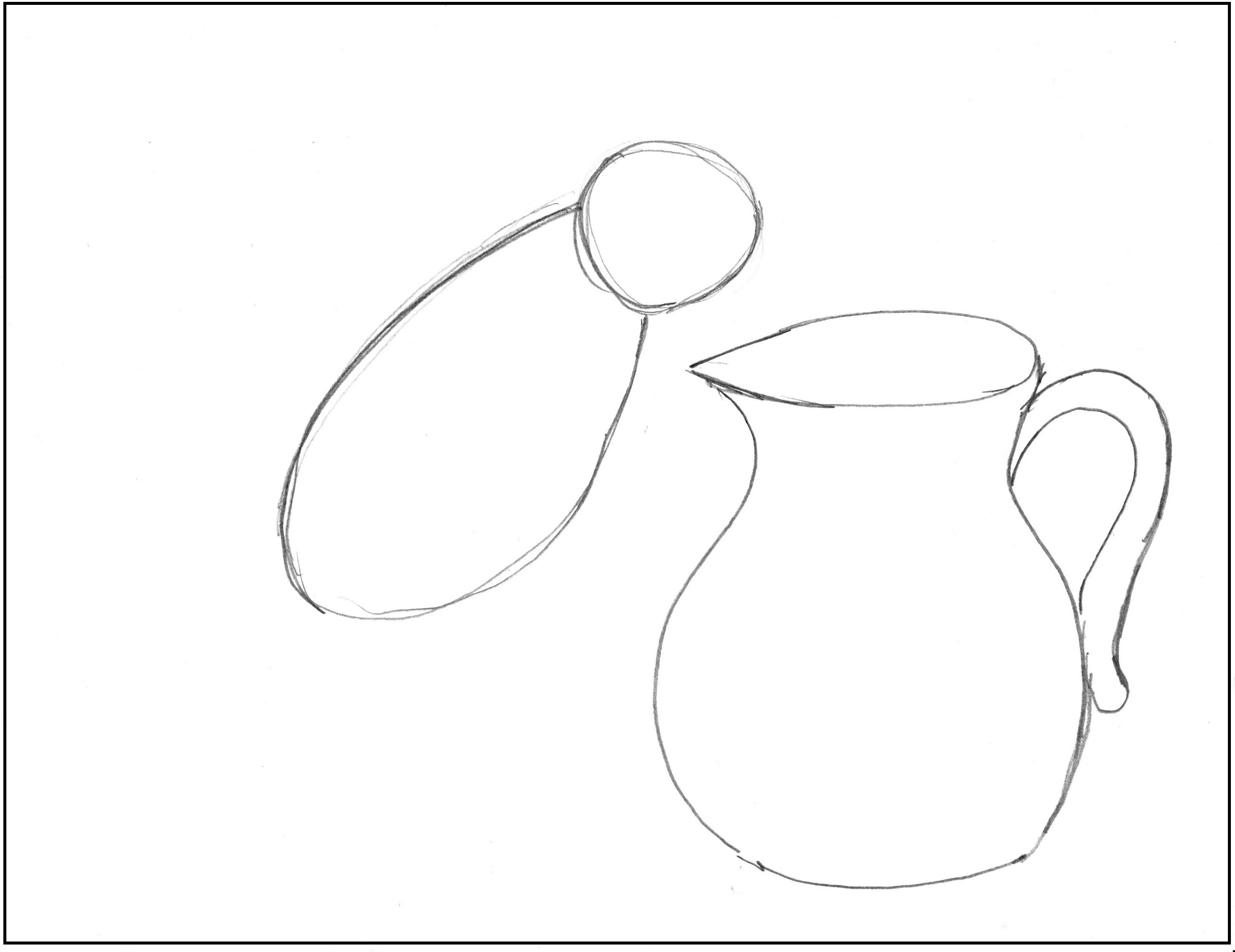 The Crow And The Pitcher Drawing Step By Step Art Starts For Kids