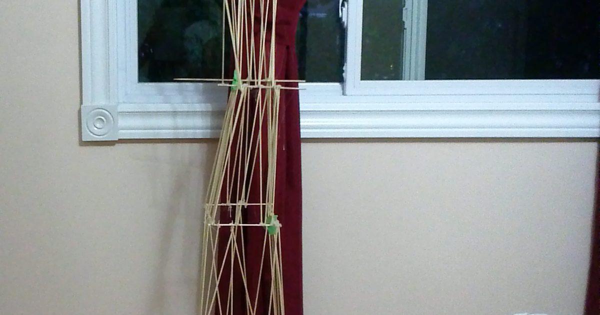 Challenge Entry Skewer Structure Art Starts For Kids