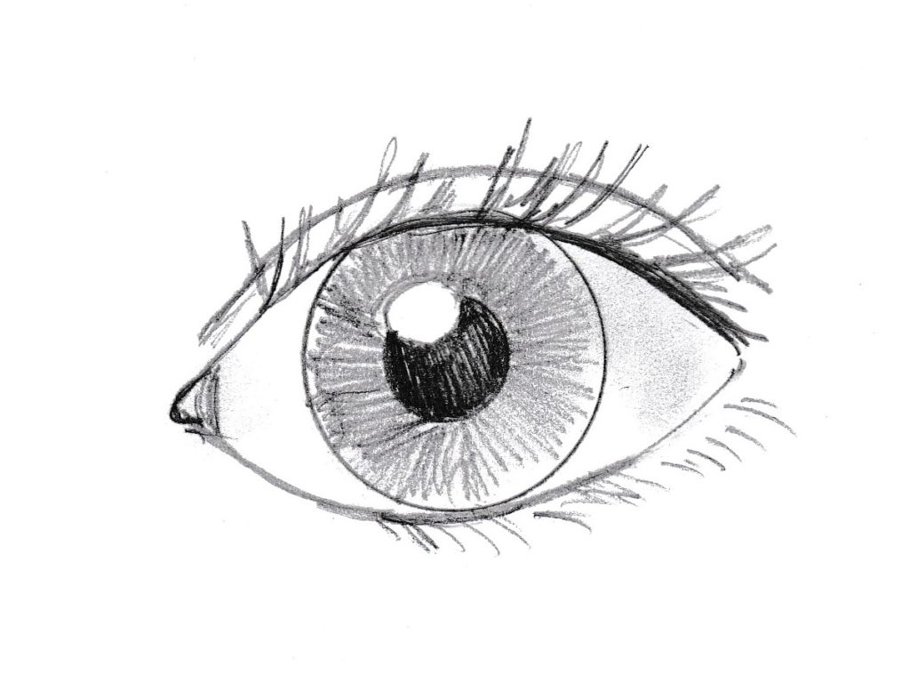 How to Draw an Eye - Samantha Bell