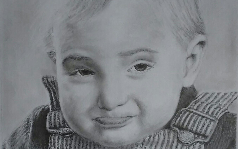 Realistic Baby Drawing - Art Starts for Kids