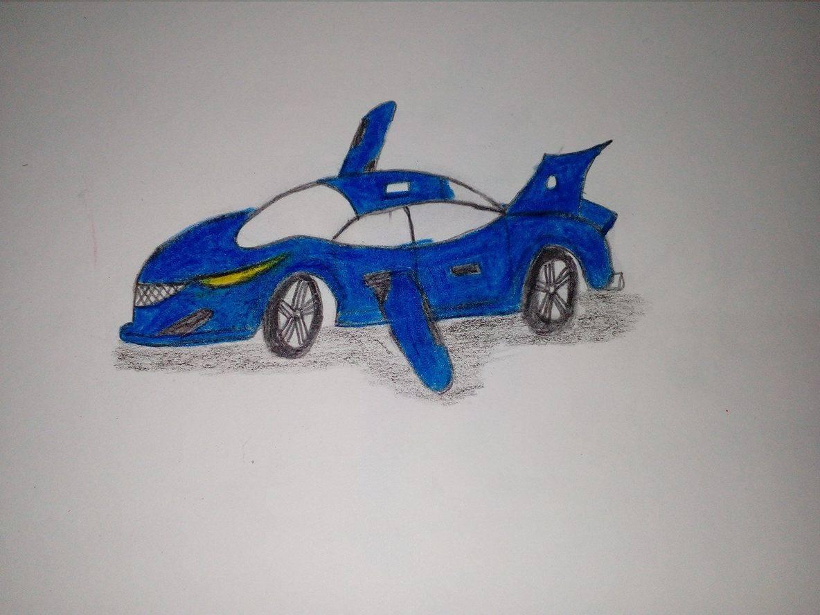 Future Flying Car Art Starts