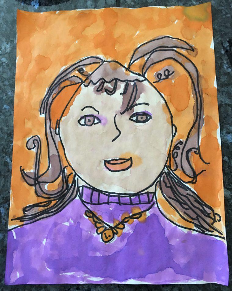 I am the new Medusa - Art Starts for Kids