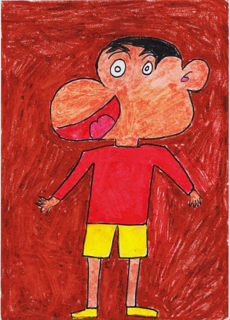 Shinchan Cartoon Character Art Starts For Kids