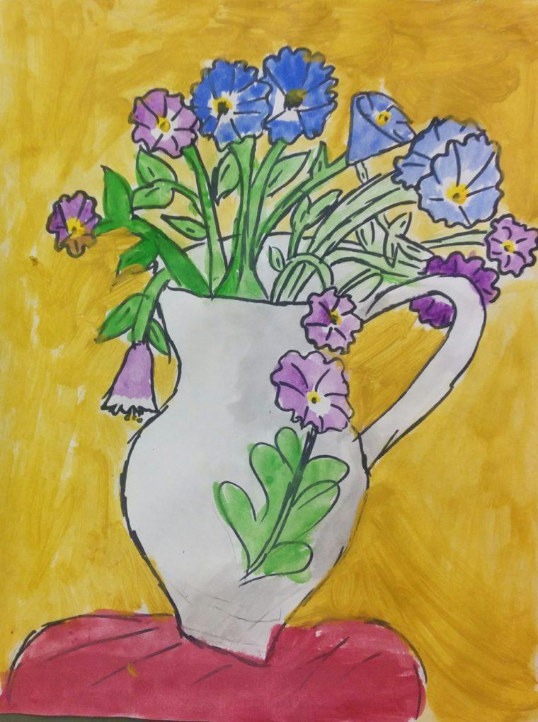The Flower Vase Samantha Bell