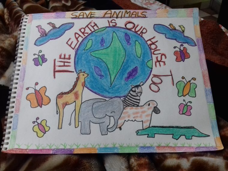 Save Animals Art Starts For Kids