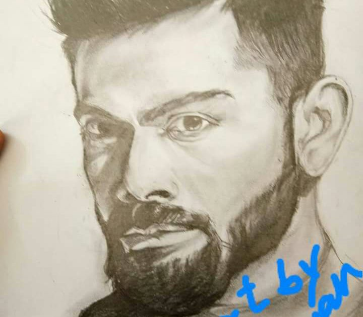 Some Portraits Sketched By Me Virat Srk And Apj Abdul