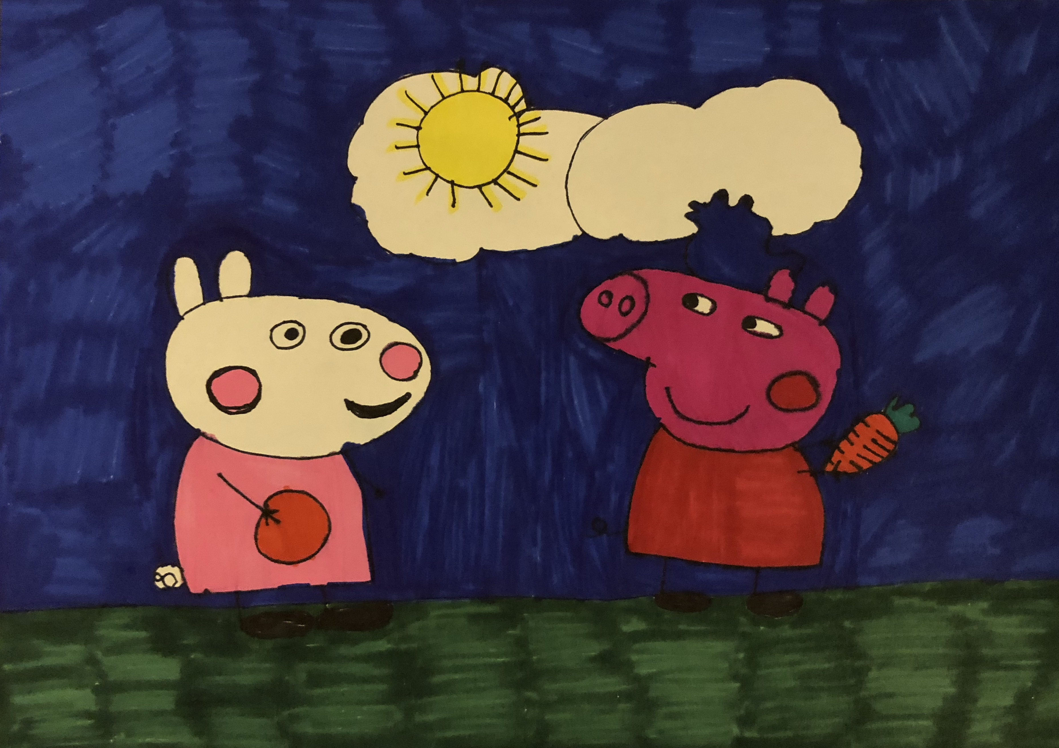 Suzy Sheep And Peppa Pig On The Farm Samantha Bell