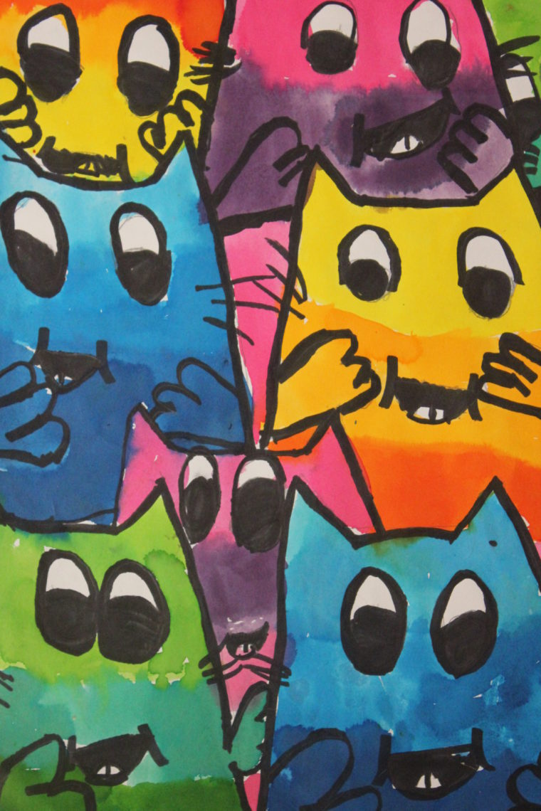 A litter of kittens - Art Starts for Kids
