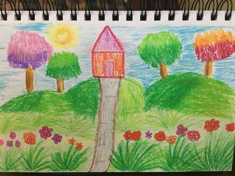 Flower Garden Art Starts For Kids