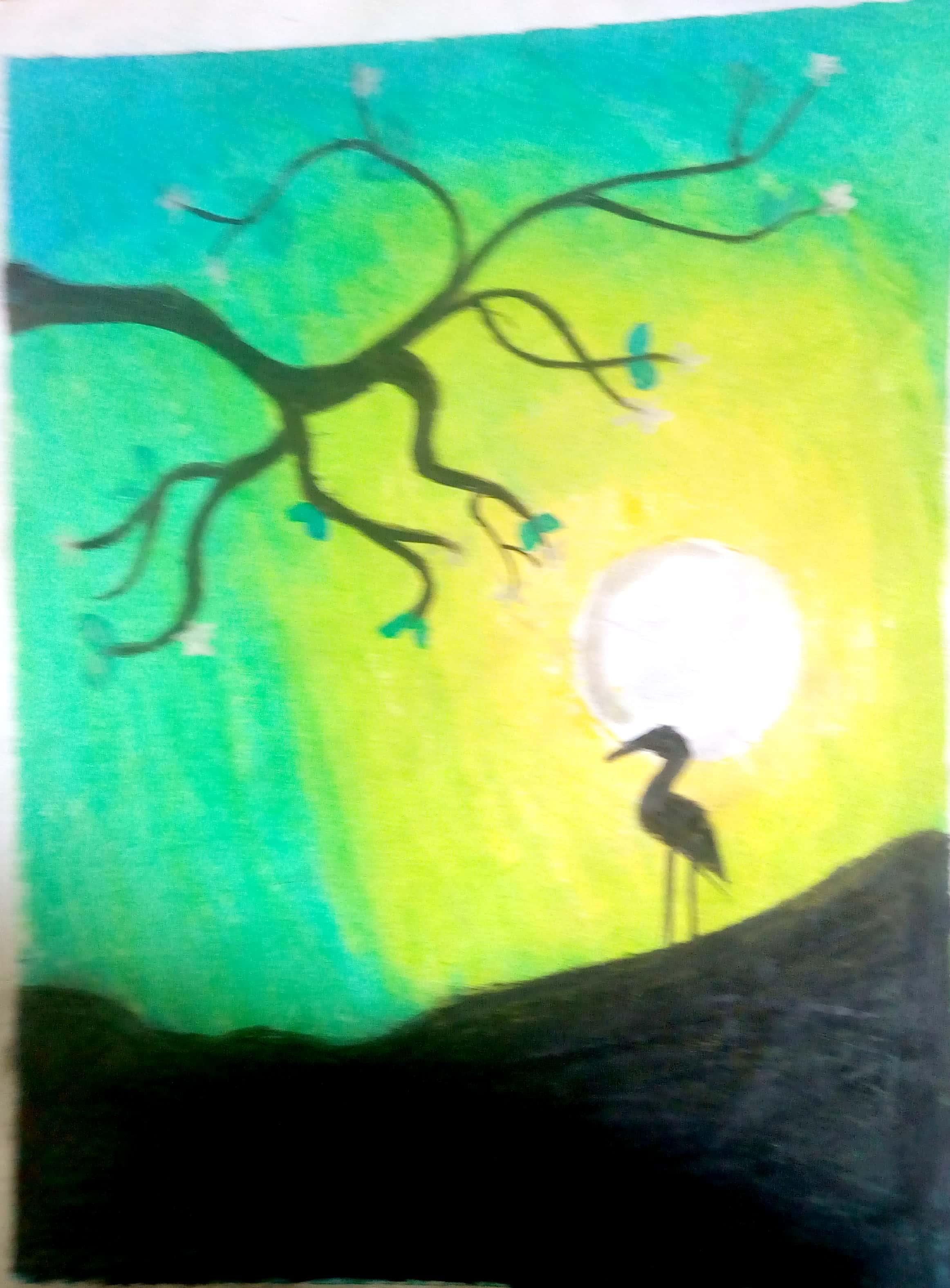 Oil Pastel Drawings Art Starts For Kids