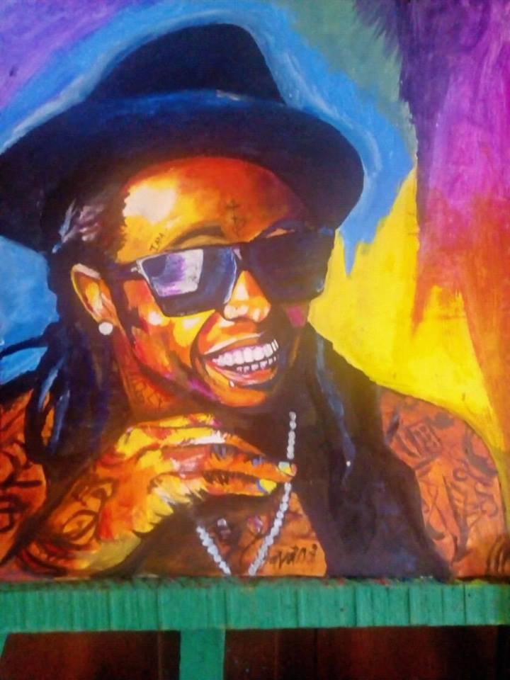 Lil Wayne Art Starts