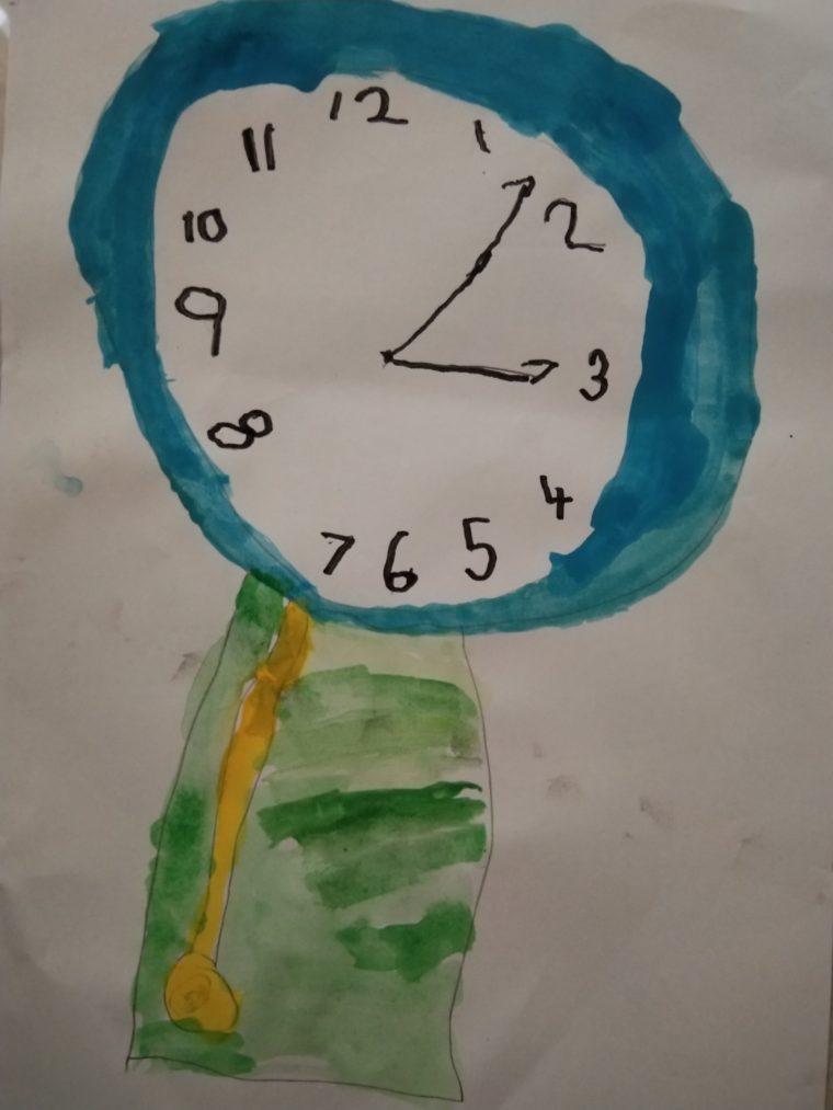 Pendulum clock - Art Starts for Kids