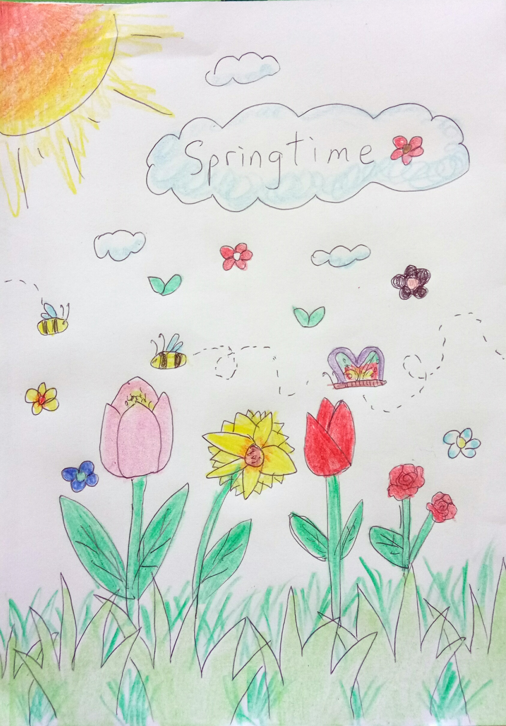 Coloring Pages Free For Kids Spring Time - Coloring Home | 2418x1686